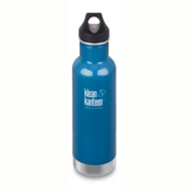 Klean Kanteen Insulated Classic 20oz Water Bottle 2017, Winter Lake, medium