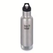 Klean Kanteen Insulated Classic 20oz Water Bottle 2017, Brushed Stainless, medium
