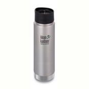 Klean Kanteen Insulated Wide 16oz Water Bottle 2017, Brushed Stainless, medium