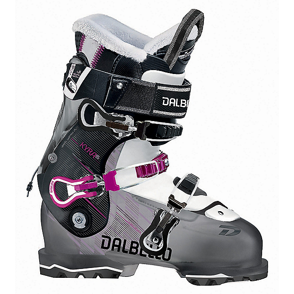 Dalbello Kyra 85 W Womens Ski Boots 2018, Black Transparent-Black, 600