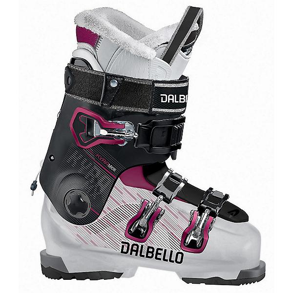 Dalbello Kyra MX 80 Womens Ski Boots 2018, Transparent-Black, 600