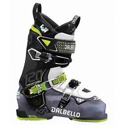 Dalbello Krypton AX 120 Ski Boots 2018, Black Transparent-White, 256
