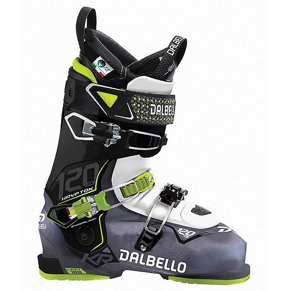 Dalbello Krypton AX 120 Ski Boots 2018, Black Transparent-White, 600