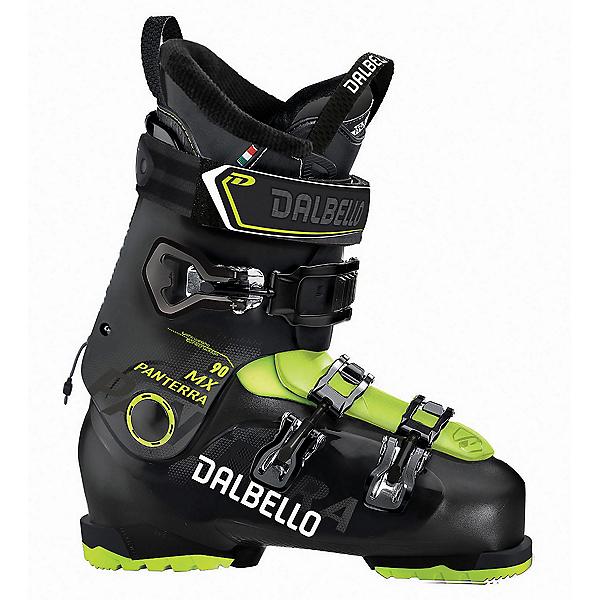 Dalbello Panterra MX 90 Ski Boots 2018, Black-Acid Yellow, 600