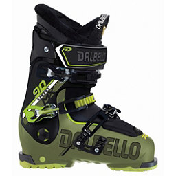 Dalbello Il Moro MX 90 Ski Boots 2018, Military Green-Black, 256