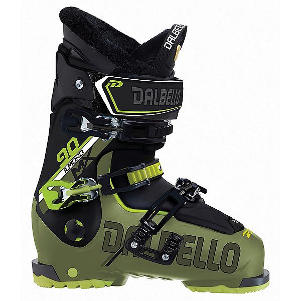 Dalbello Il Moro MX 90 Ski Boots 2018, Military Green-Black, 600