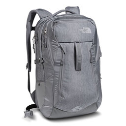 The North Face Router Backpack 2018, TNF Medium Grey Heather-Zinc Grey, 256