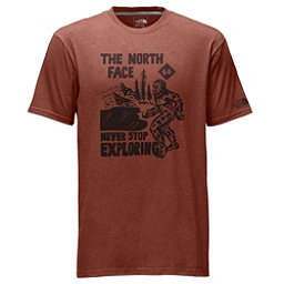 The North Face Hide N Seek Short Sleeve T-Shirt, Ketchup Red Heather, 256