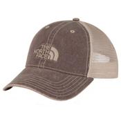 The North Face Broken In Trucker Mens Hat, Barolo Red, medium