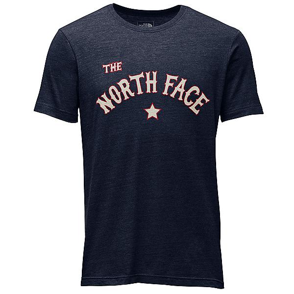 The North Face Americana Tri-Blend Slim T-Shirt, Urban Navy Heather, 600