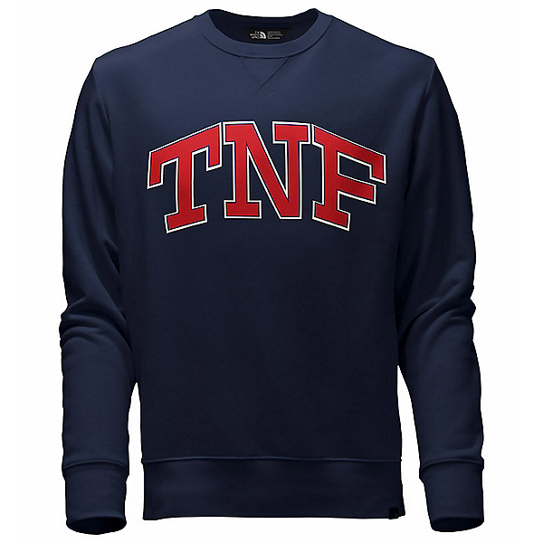 The North Face Americana Fleece Crew Sweatshirt, , 600