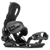 Gnu Weird Snowboard Bindings, Black, medium