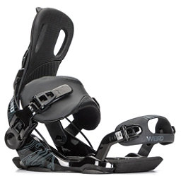 Gnu Weird Snowboard Bindings, Black, 256