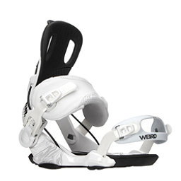 Gnu Weird Snowboard Bindings, White, 256