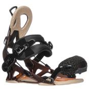 Gnu Mutant Snowboard Bindings, Brown, medium