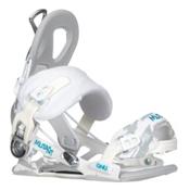 Gnu Mutant Snowboard Bindings, White, medium