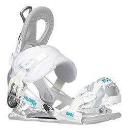 Gnu Mutant Snowboard Bindings, White, 256