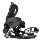 Gnu B-Real Womens Snowboard Bindings, Black, medium