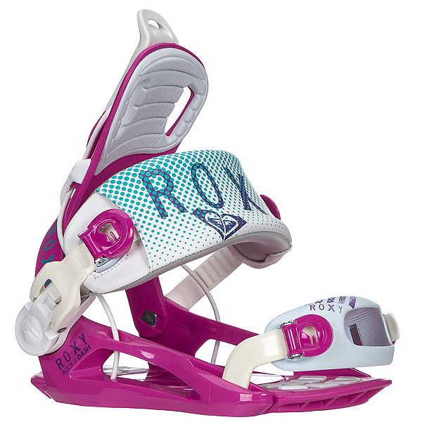 Roxy Rock-It Dash Womens Snowboard Bindings, Purple, 600