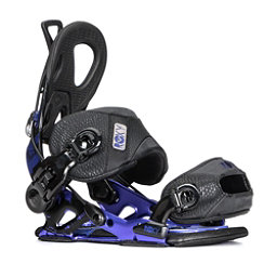 Roxy Rock-It Power Womens Snowboard Bindings, Black, 256