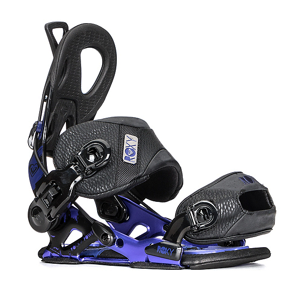 Roxy Rock-It Power Womens Snowboard Bindings, Black, 600
