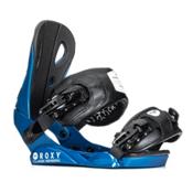 Roxy Classic Womens Snowboard Bindings, Blue, medium