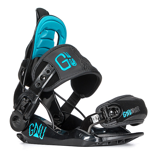 Gnu Gnunior Kids Snowboard Bindings, , 600