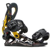 Gnu Freedom Snowboard Bindings, Yellow, medium