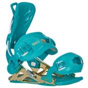 Gnu B-Free Womens Snowboard Bindings, Blue, medium