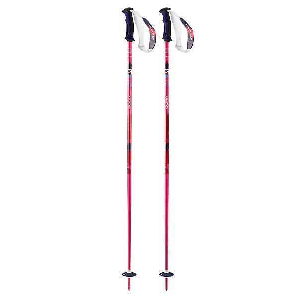 Salomon Shiva Womens Ski Poles, Pink, 600