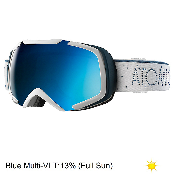 Atomic Revel S ML Goggles, White-Blue, 600