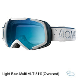 Atomic Revel S ML Goggles, White-Light Blue, 256