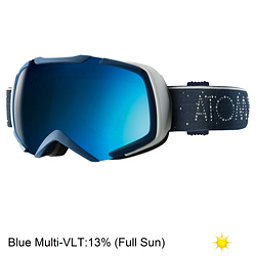 Atomic Revel S ML Goggles, Dark Blue-Blue, 256