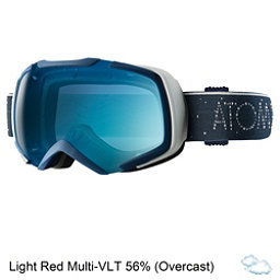 Atomic Revel S ML Goggles, Dark Blue-Light Blue, 256
