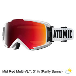 Atomic Savor ML Goggles, White-Mid Red, 256