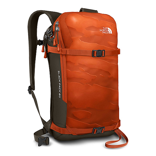 The North Face Slackpack 20 Backpack, Falcon Brown-Tibetan Orange, 600