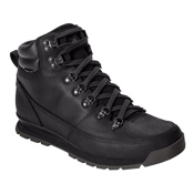 The North Face Back-To-Berkeley Leather Mens Boots, TNF Black-TNF Black-TNF Black, medium