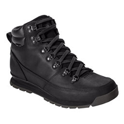The North Face Back-To-Berkeley Leather Mens Boots, TNF Black-TNF Black-TNF Black, 256