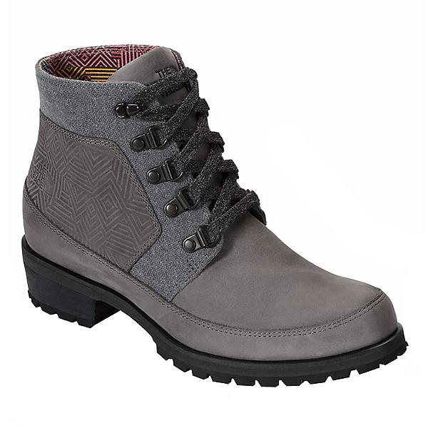 The North Face Bridgeton Ankle Lace Womens Boots, Dark Gull Grey-TNF Black, 600
