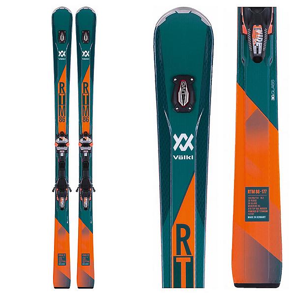 Volkl RTM 86 Skis with IPT WR XL 12 Bindings 2018, , 600