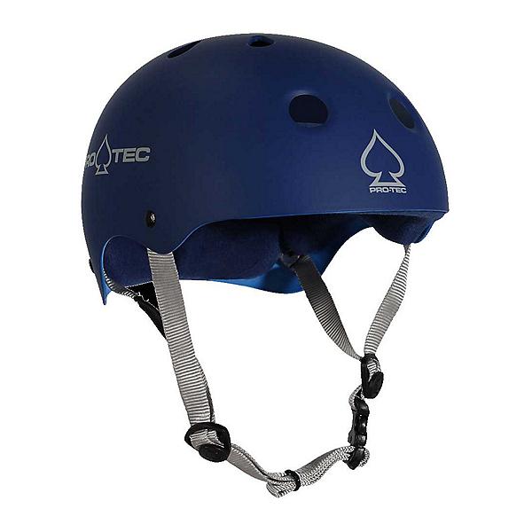 Pro-Tec Classic Mens Skate Helmet 2017, Matte Blue, 600