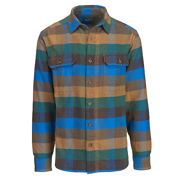Woolrich Oxbow Bend Flannel Shirt, Multi Check, 600