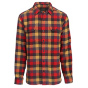 Woolrich Oxbow Bend Flannel Shirt, Red Multi, medium