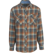 Woolrich Miners Wash Flannel Shirt, Mallard Green, medium