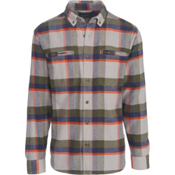 Woolrich Oxbow Pass Eco Rich Flannel Shirt, Geyser Herringbone, medium