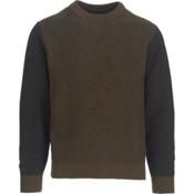Woolrich Twill Sweatshirt, Olive, medium