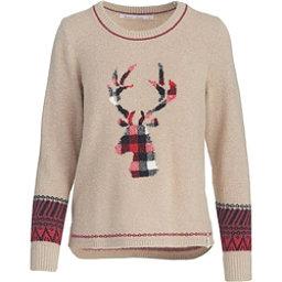 Woolrich Motif Womens Sweater, Burlap, 256