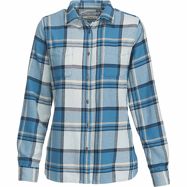 Woolrich The Pemberton Flannel Shirt, French Blue, 600