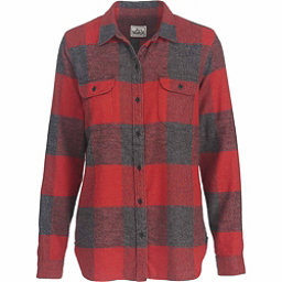 Woolrich Eco Rich Twisted Rich Flannel Shirt, Beet Check, 256