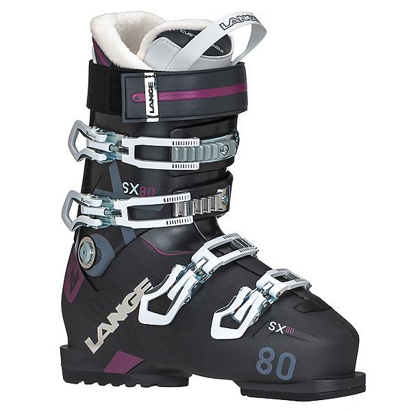 Lange SX 80 W Womens Ski Boots 2018, , 600
